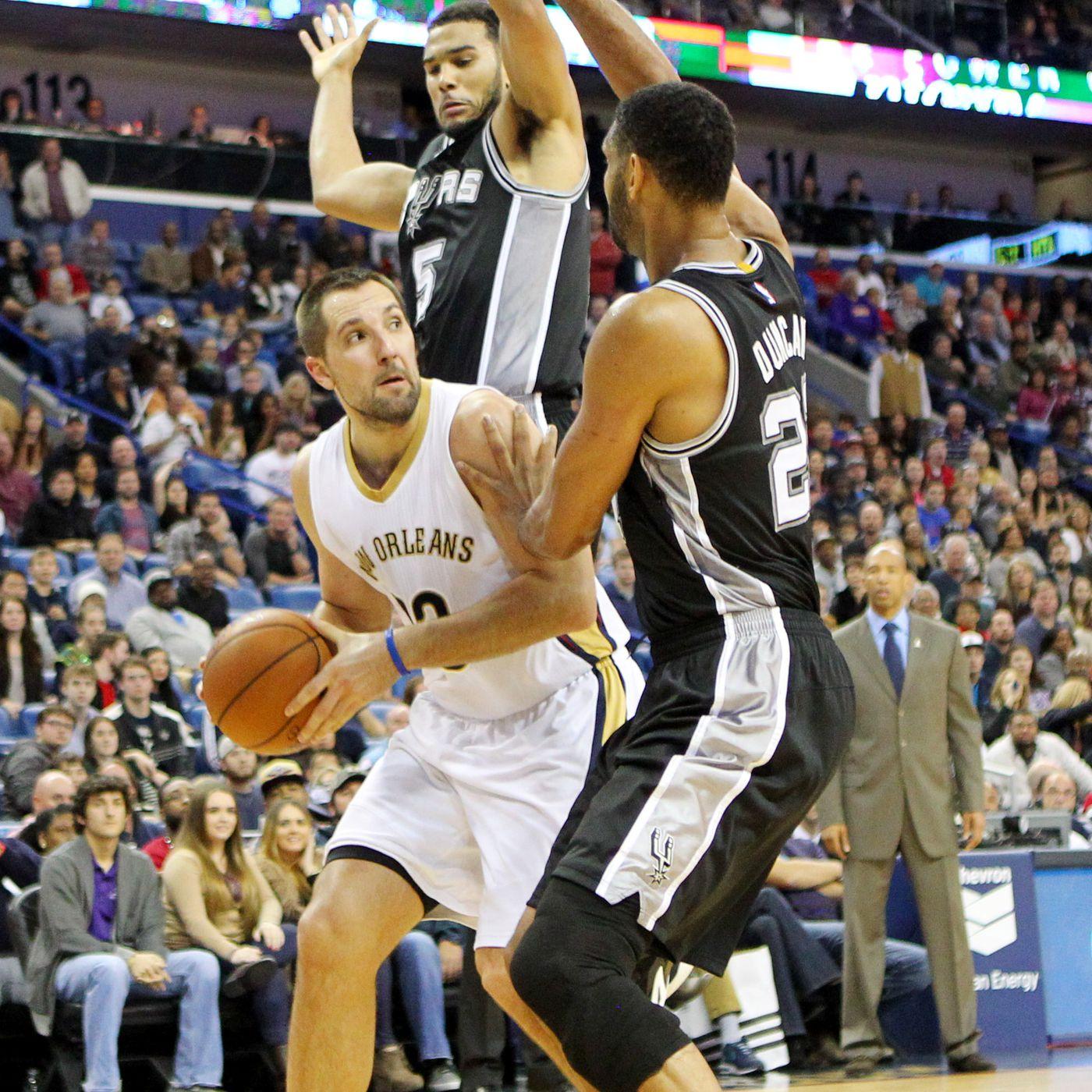 Gamethread For San Antonio Spurs At New Orleans Pelicans Apr 15 2015 7 00 Pm Cdt Pounding The Rock