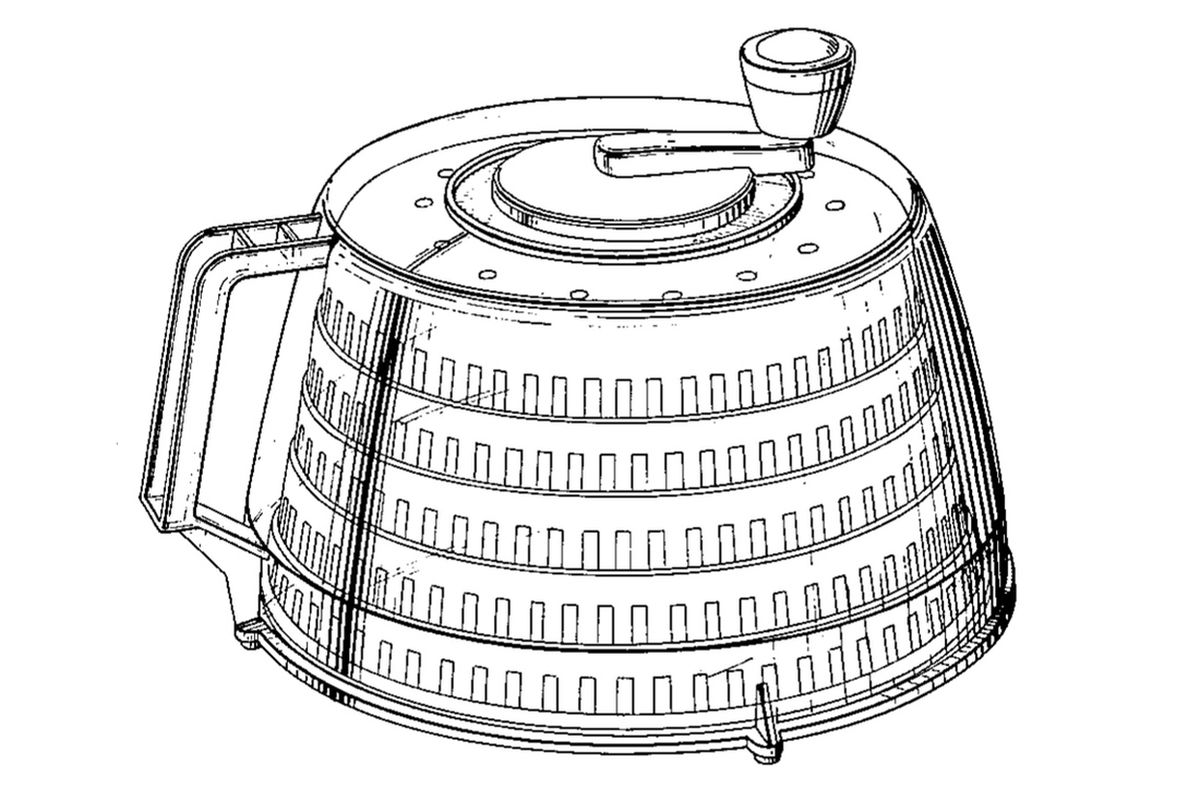 salad spinner (wikimedia commons)