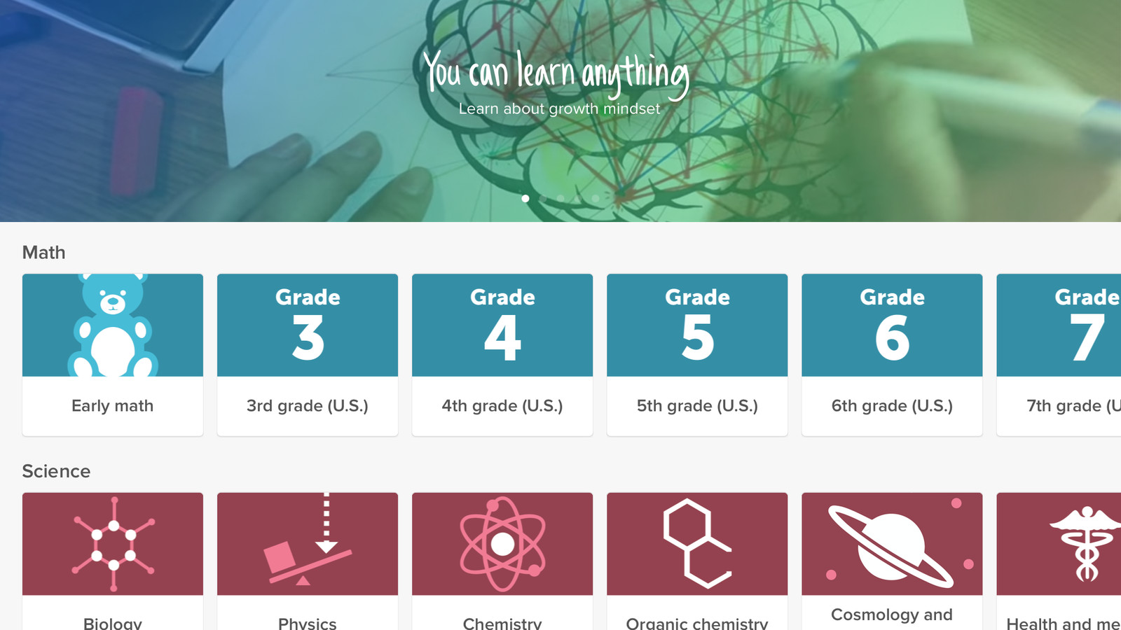Every Khan Academy Course Is Now Available On The Ipad For First Parallel Circuit Diagram 4th Grade Time Verge