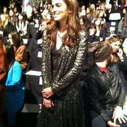 Nikki Reed was getting majorly bombarded by photogs.