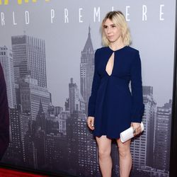 Zosia Mamet at the New York premiere of <i>Trainwreck</i>.