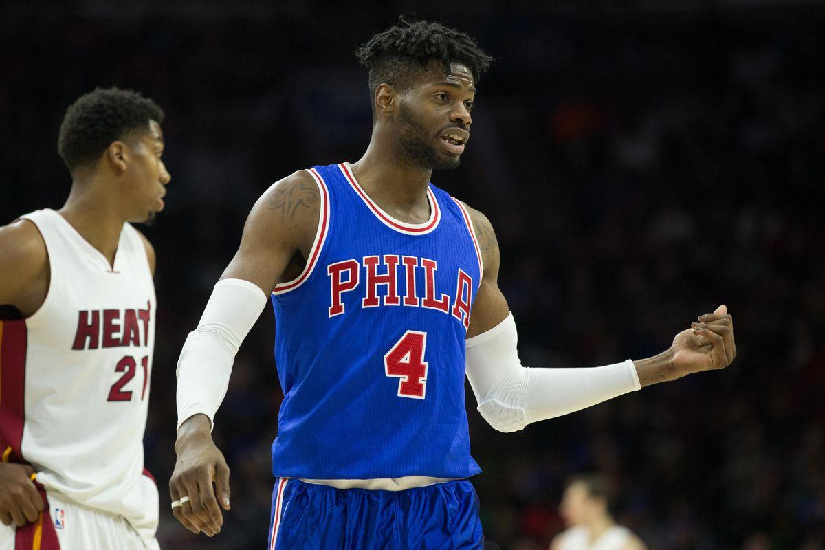 NBA: Miami Heat at Philadelphia 76ers