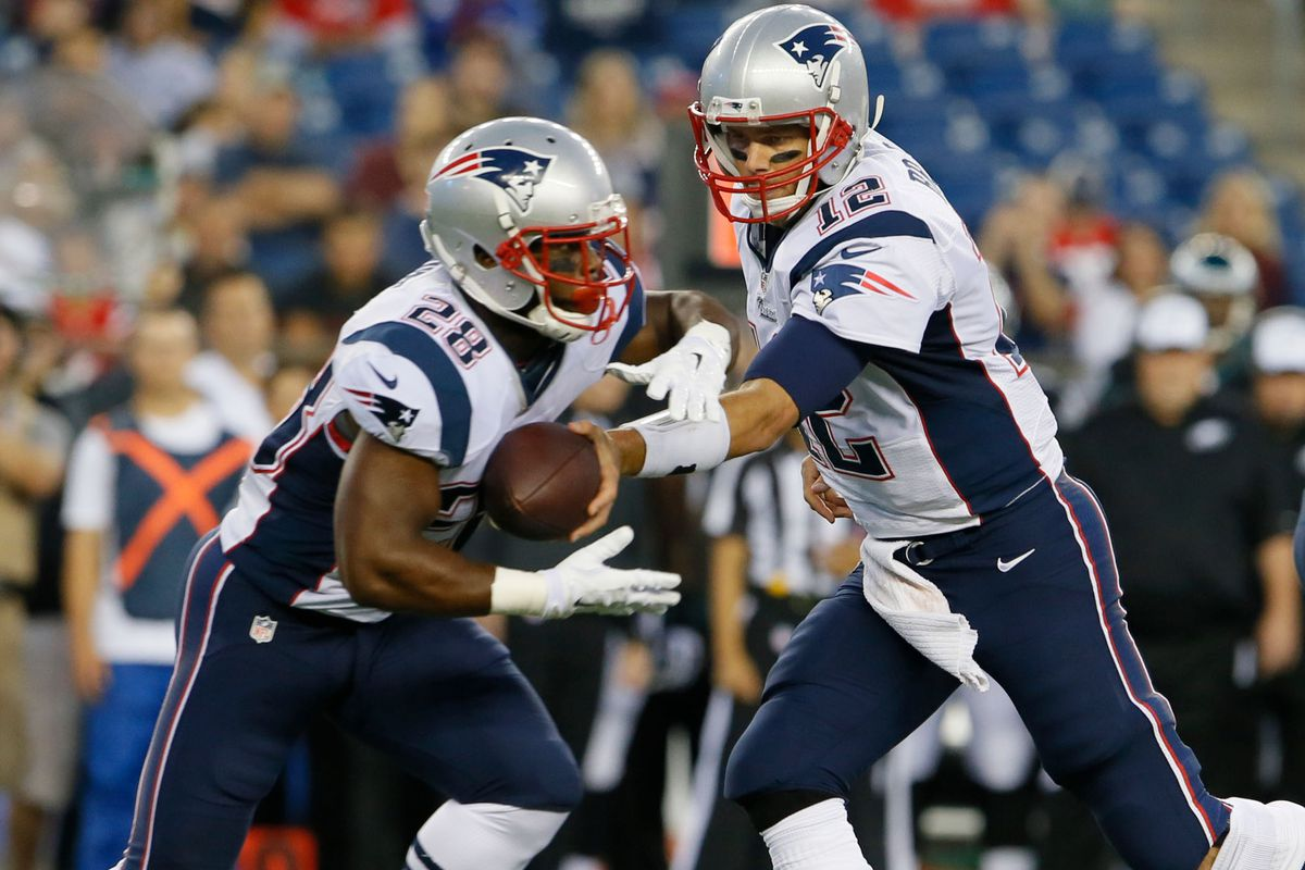 Is James White ready for 3rd-down back role?