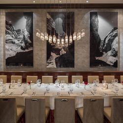 Charlie Palmer Steak's private dining room