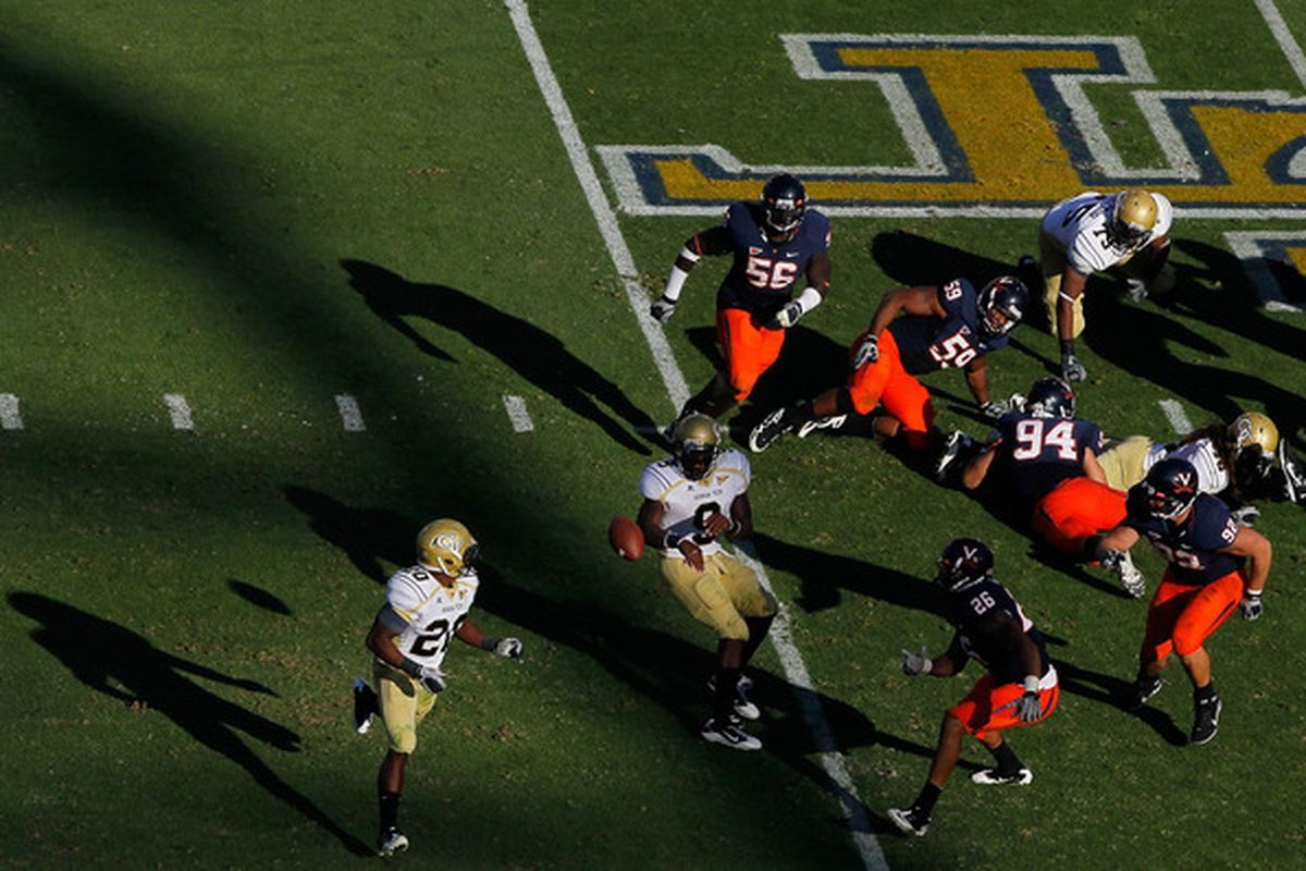 Optionizing UVA.  (Photo by Kevin C. Cox/Getty Images)