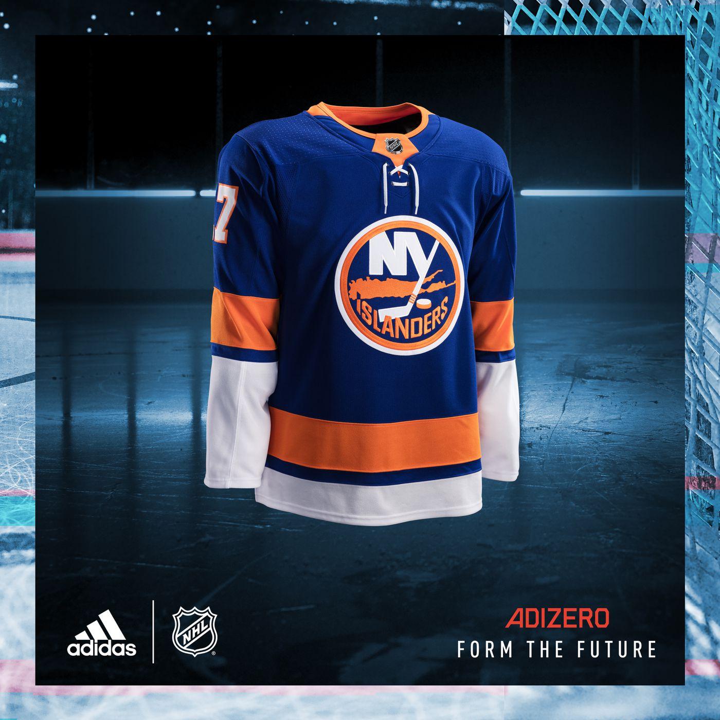 sale retailer e68d5 cd2ef Days of Future Past: New Adidas Islanders jersey looks like ...