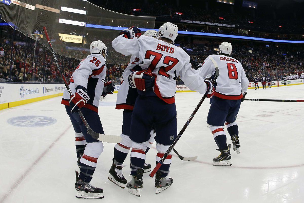 NHL: Washington Capitals at Columbus Blue Jackets