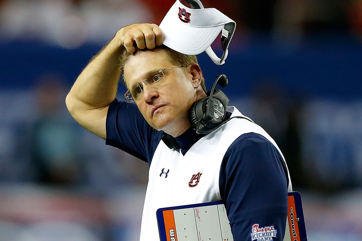 af0ce81cc Gus Malzahn soars to the top of the SEC West s hot seat rankings ...