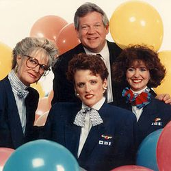"""The nautical uniform theme of the 90s. Yikes. Photo via <a href-""""http://www.tlc.com/tv-shows/on-the-fly/photos/southwest-vintage-flight-attendant-fashion-pictures.htm"""">TLC.</a>"""