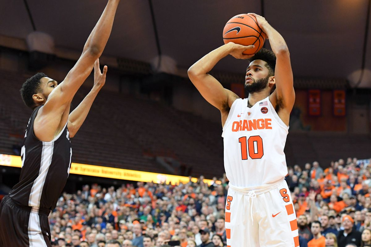 syracuse basketball enters acc play with plenty of work to be done