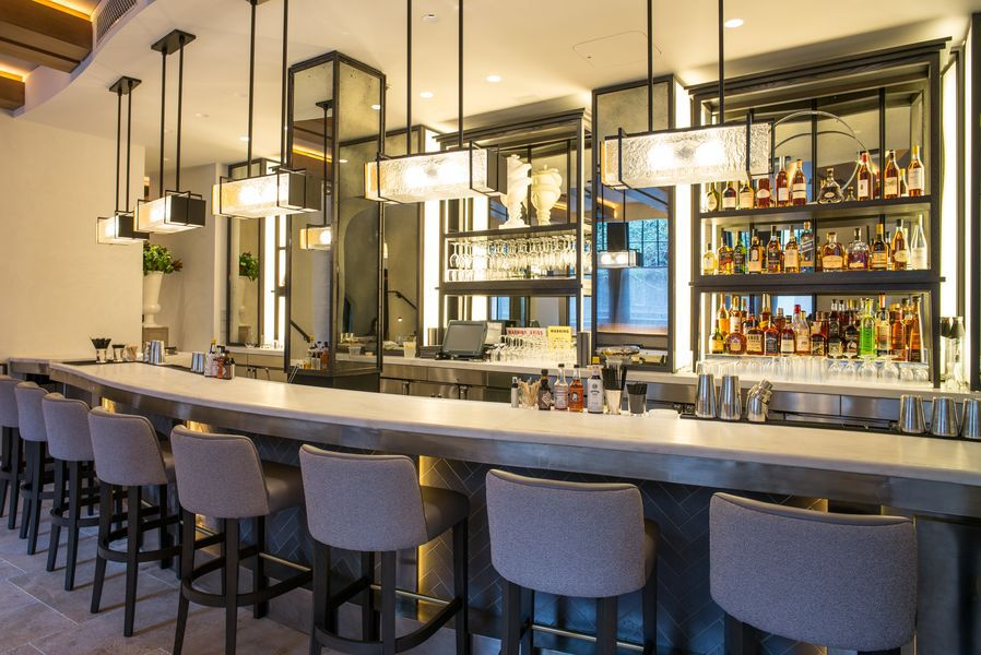 [The bar at Vaucluse] Photo by Nick Solares