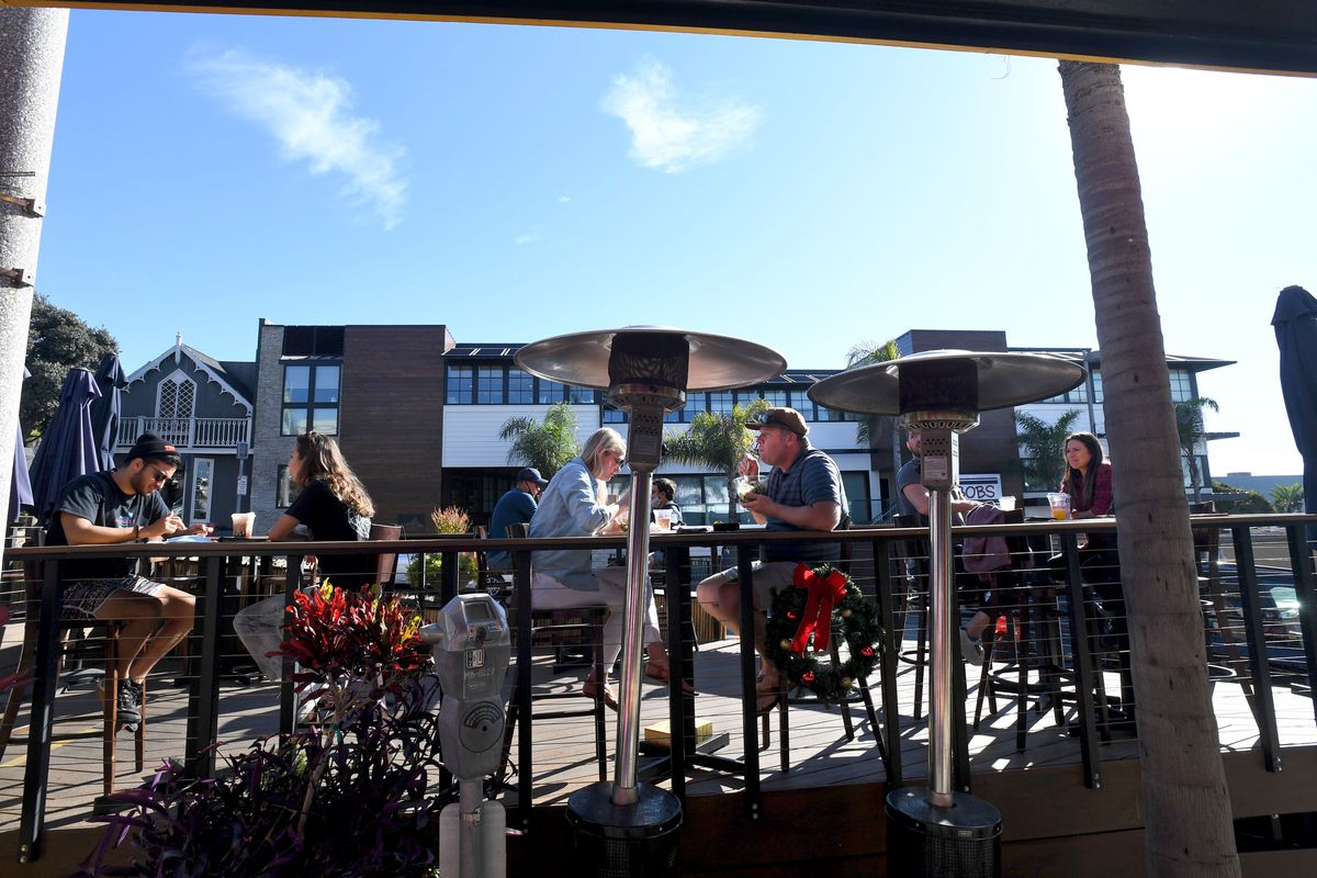 The city of Manhattan Beach is allowing public seating in previously patio dining areas.