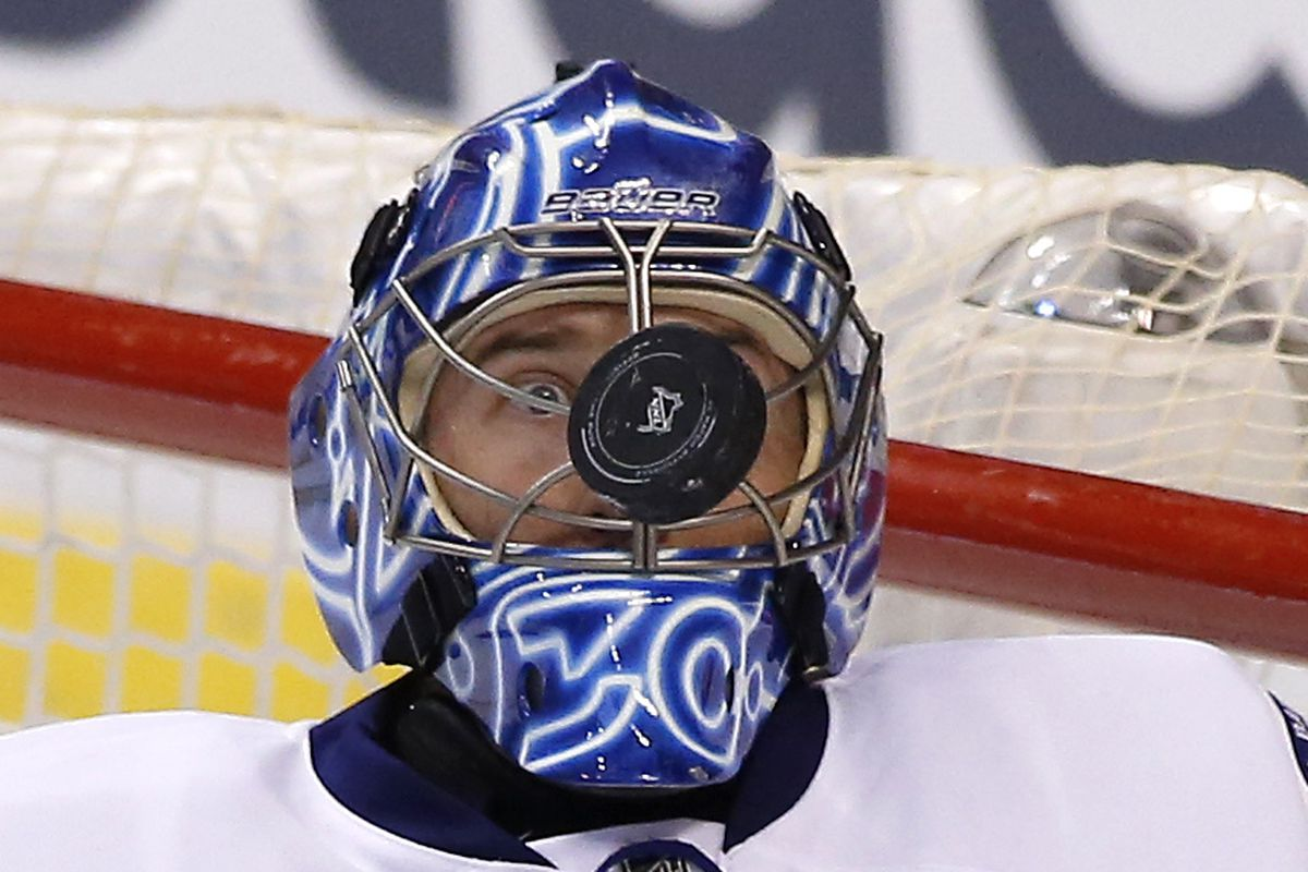 Ben Bishop.l Goalie mask. Go look at the one he's got slated for September's World Cup.