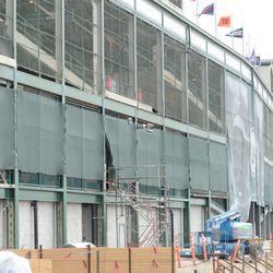 3:07 p.m. Another view of the west side of the ballpark -