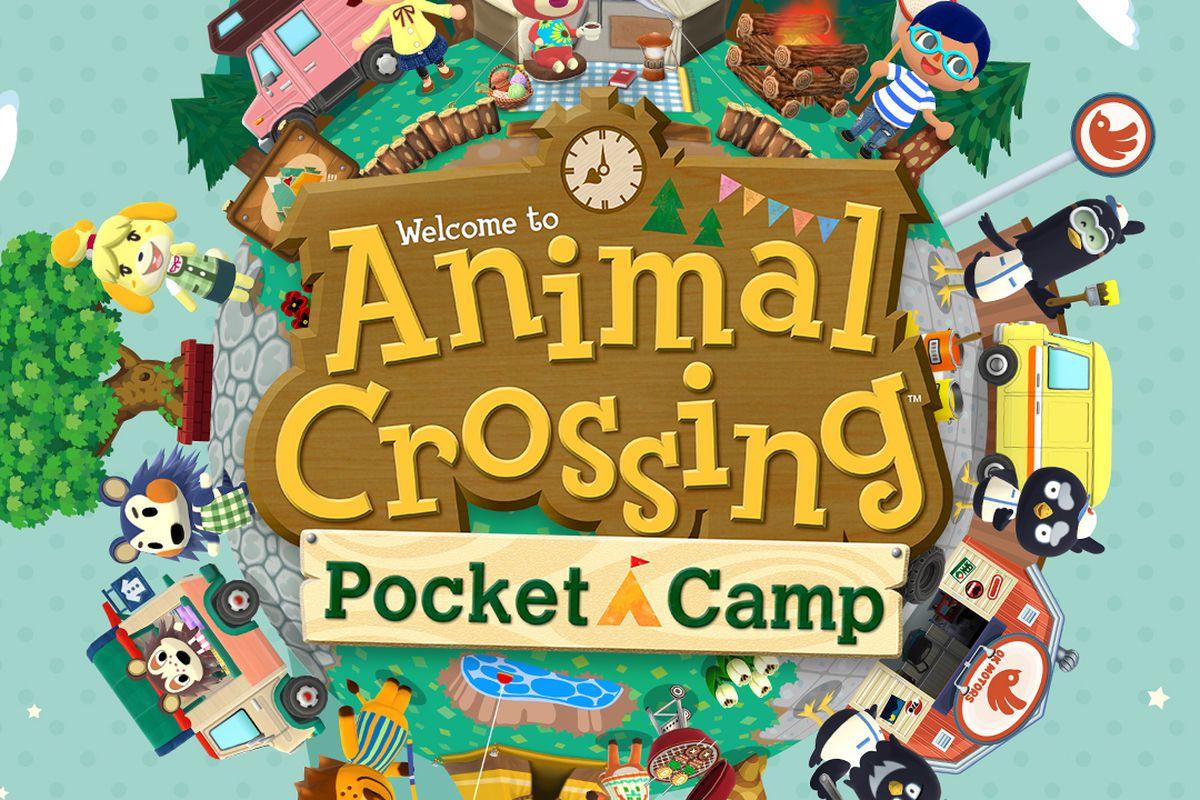 animal crossing pocket camp key art
