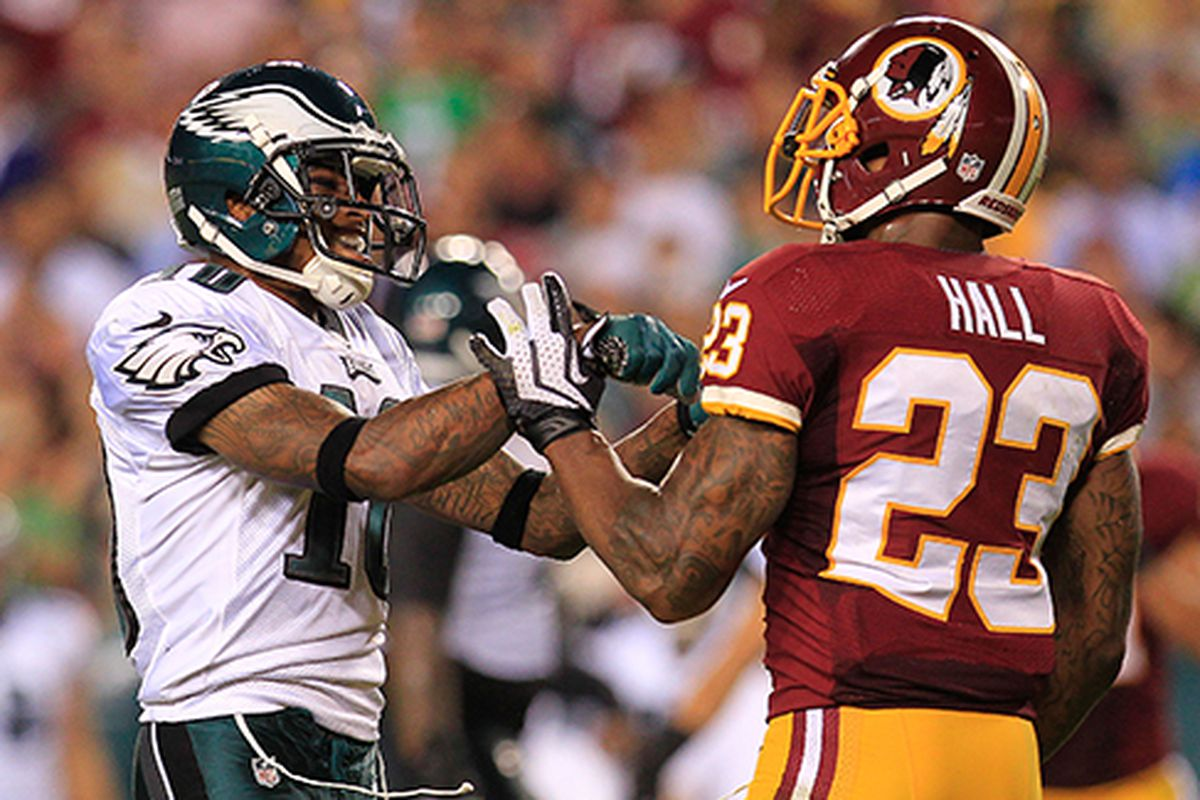 DeSean Jackson and DeAngelo Hall Sessions Hogs Haven