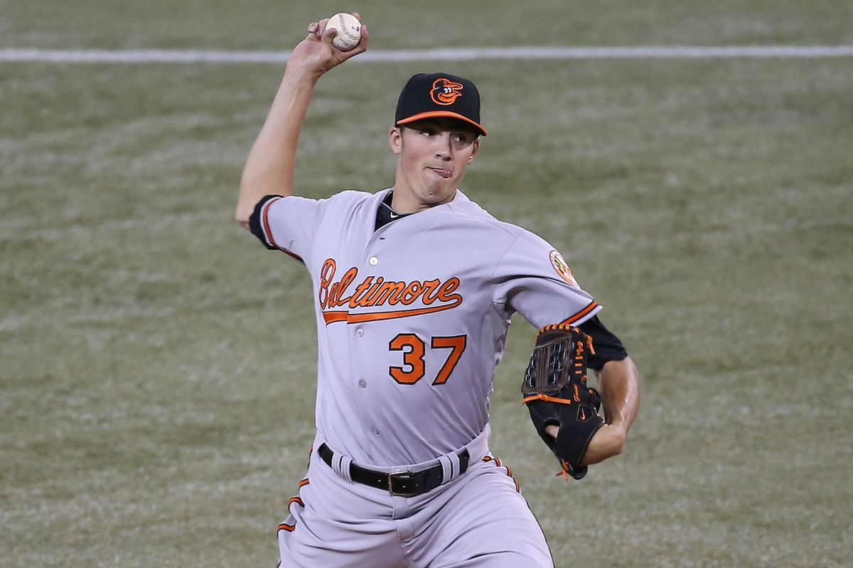 Kevin Gausman is the Orioles' top prospect this year