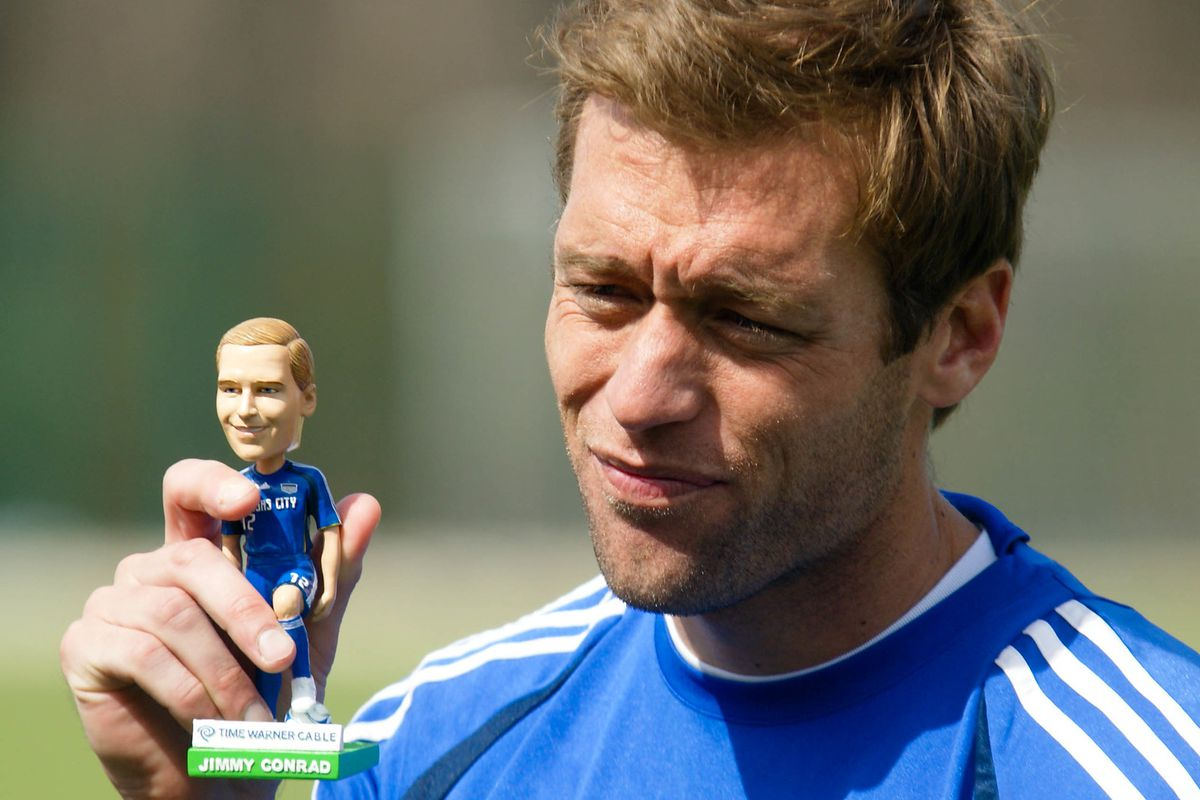 Jimmy and his bobble head