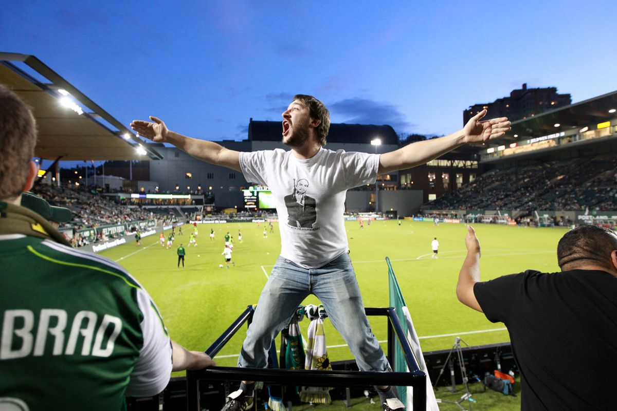 Look out MLS Portland is looking to make the playoffs.(Photo by Tom Hauck/Getty Images)