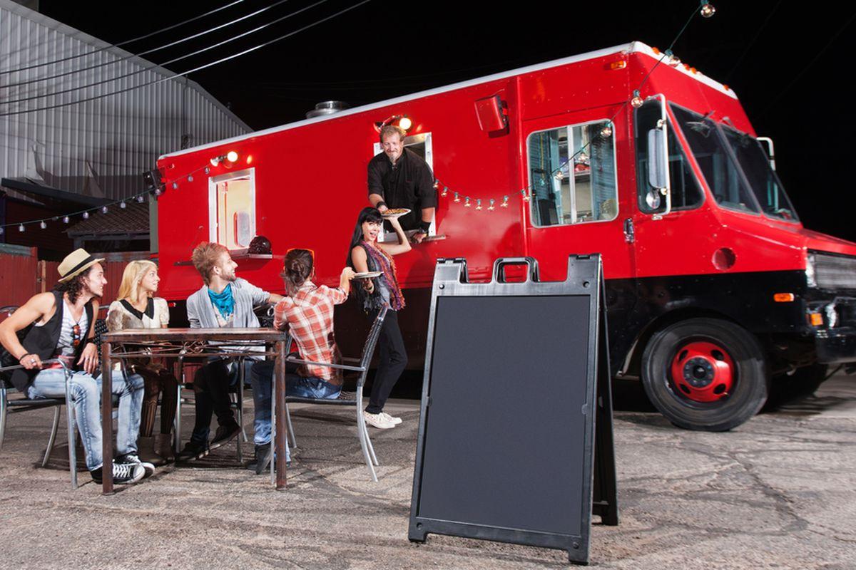 A food truck