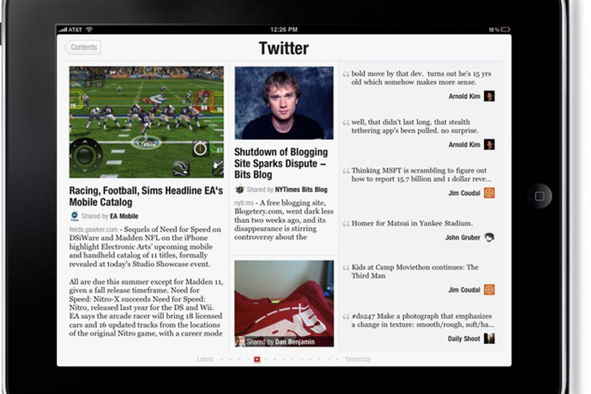 Twitter Has Held Talks to Acquire Flipboard