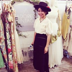 """Rodelee Bas of Long Beach's <a href=""""http://www.adoredvintage.com/""""target=""""_blank"""">Adored Vintage</a>."""