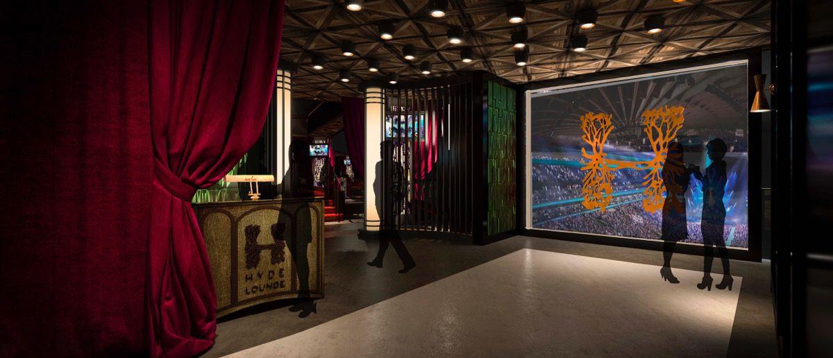 Hyde Lounge Las Vegas Arena