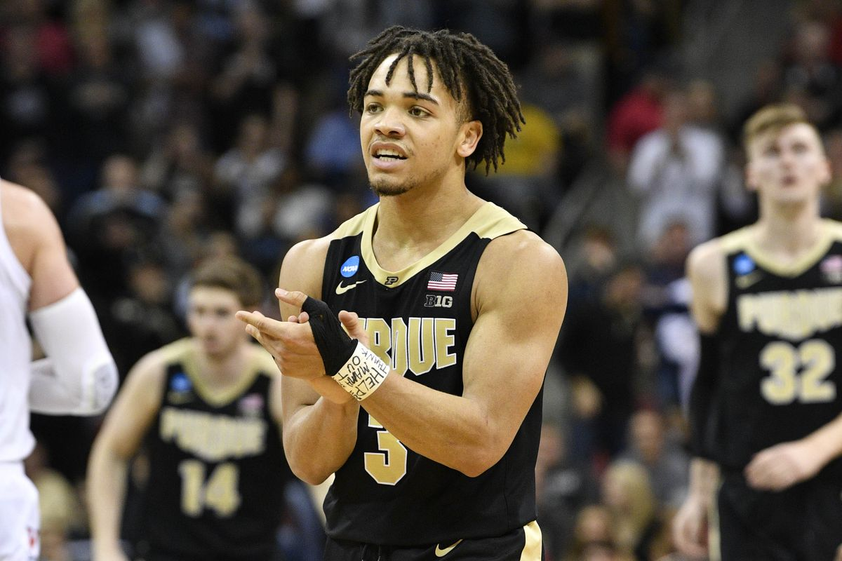 Celtics Select Carsen Edwards With 33rd Pick In 2019 Nba Draft