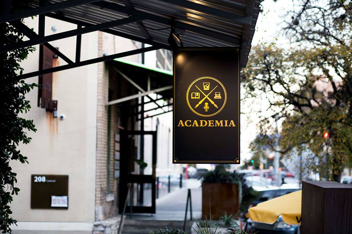 Academia's banner