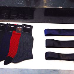Socks and ties for the devastatingly cool man who wears The Kooples head-to-toe.