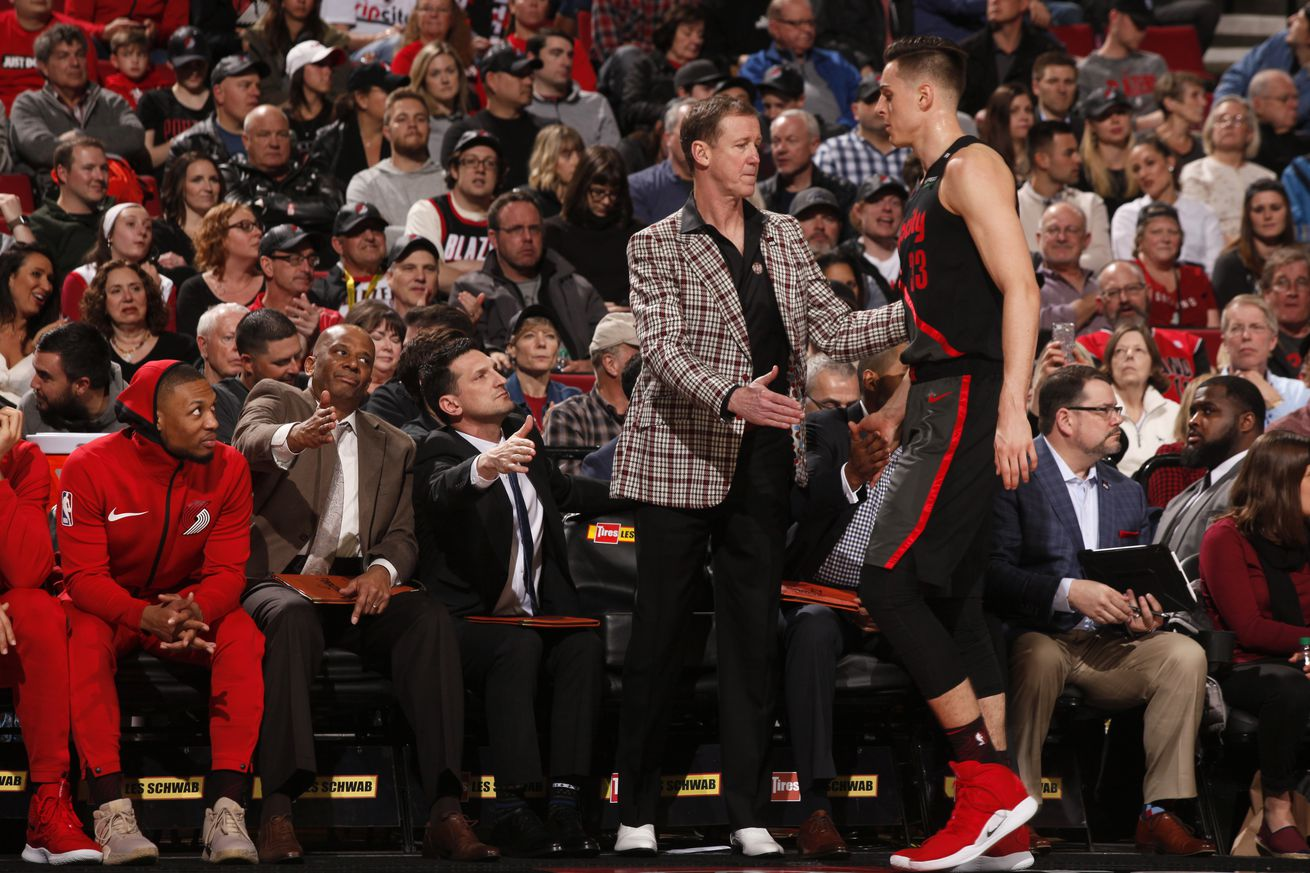 Blazers to Avoid the Herd, Dodge Load Management