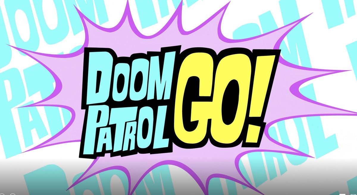 Doom Patrol Go! art