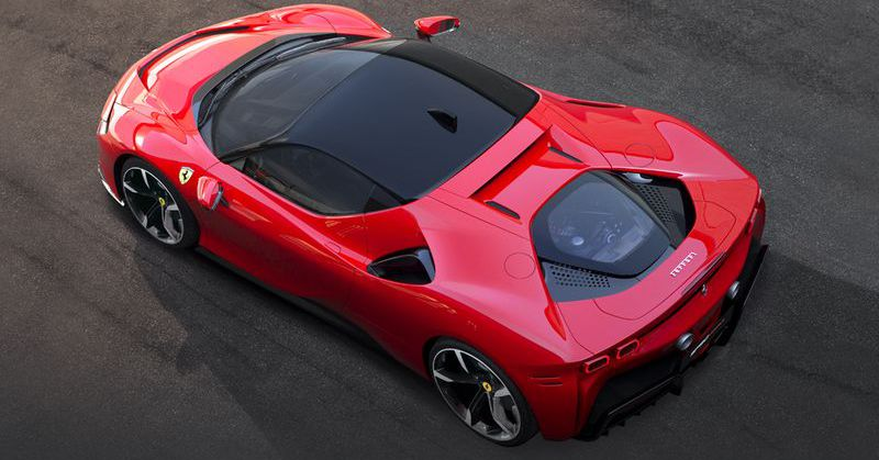 Ferrari's first plug-in hybrid can go from 0–62 mph in 2.5 seconds