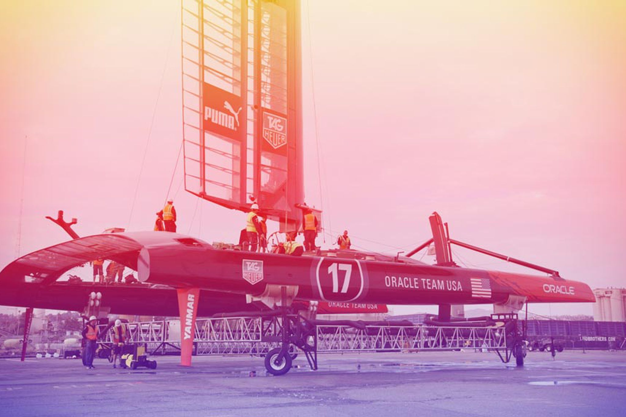 Billionaire death race: inside America's Cup and the world's most