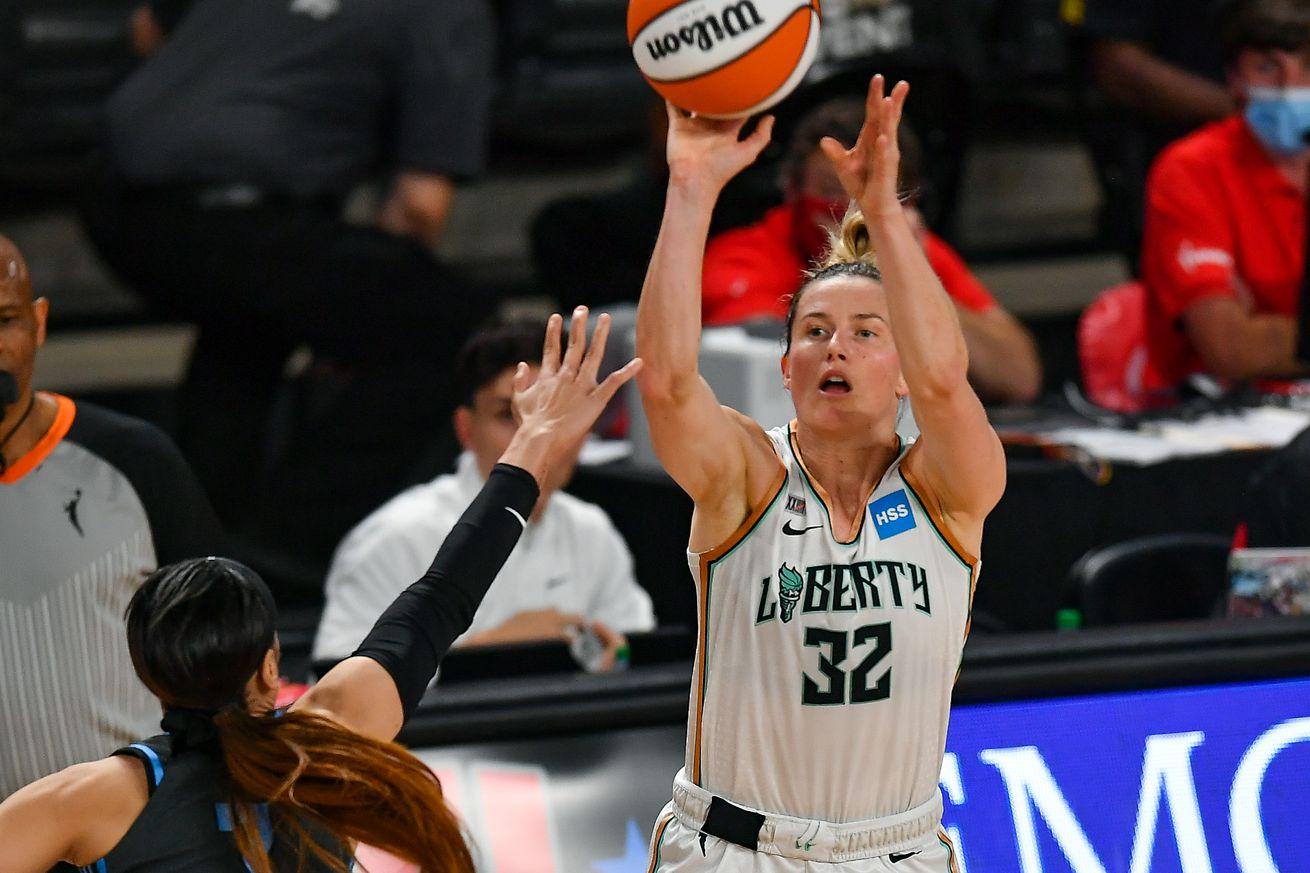 WNBA: JUN 26 New York Liberty at Atlanta Dream