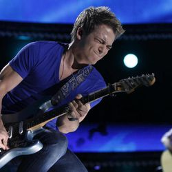 FILE - This June 9, 2012 file photo shows singer Hunter Hayes performs at the 2012 CMA Music Festival in Nashville, Tenn. Hayes knows a thing or two about hurricanes. The south Louisiana native has seen his share of storms. On Friday, Hayes, a 20-year-old from Breaux Bridge, La., is returning to his home state to perform at a benefit concert for a New Orleans area hospital Friday, and on Sunday, he'll be singing the national anthem for the New Orleans Saints regular season opening game against the Washington Redskins.