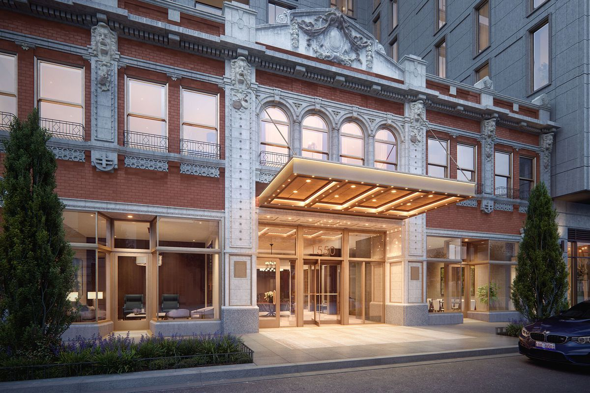 Historic theater gets second life in new Gold Coast condo