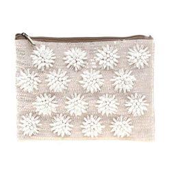 "ASOS Floral Beaded Clutch Bag, $66.50 at <a href=""http://us.asos.com/countryid/2/ASOS-Floral-Beaded-Clutch-Bag/zfag4/?iid=2609346&cid=8730&Rf900=1427&sh=0&pge=0&pgesize=200&sort=-1&clr=Nude&mporgp=L0FTT1MvQVNPUy1GbG9yYWwtQmVhZGVkLUNsdXRjaC1CYWcvUHJvZC8.&M"