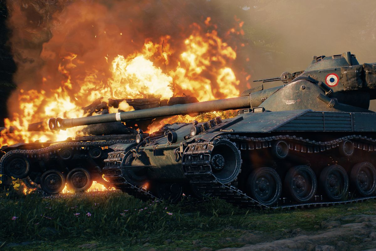 World of tanks gets first major face lift in 8 years polygon today gumiabroncs Image collections