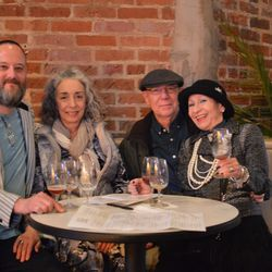 (l-r) Phillip Elliot and Laura Wolf from Baton Rouge, and John and Anita Ebeling from Houston