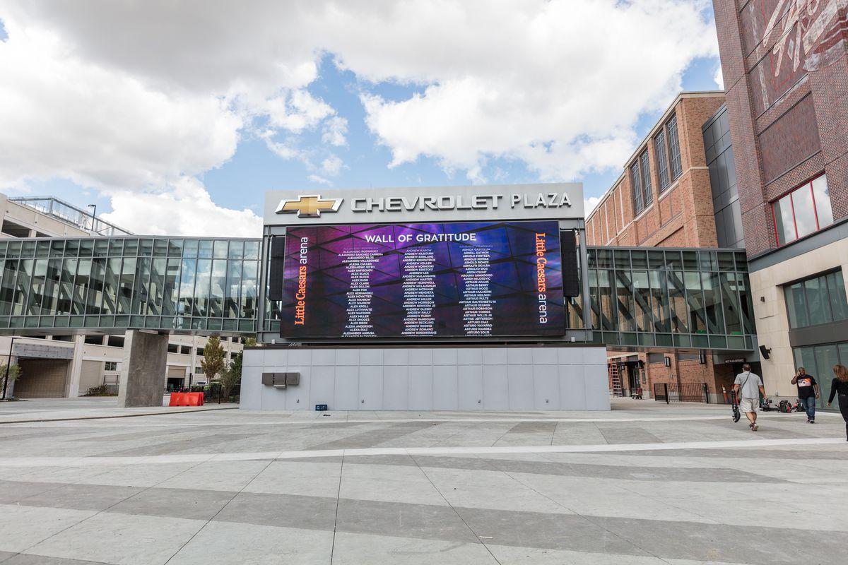 Little Caesars Arena Tour Detroit S Newest Sports Venue