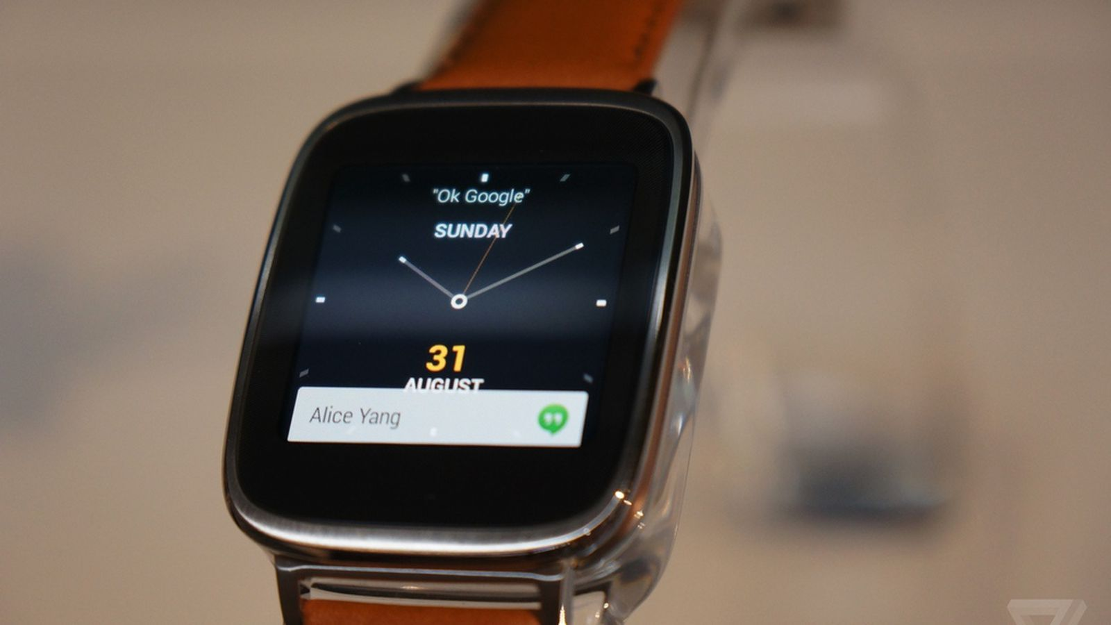 Asus will launch its stylish ZenWatch on November 9th for ...
