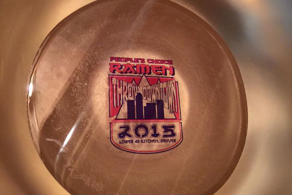 Commemorative trophy bowls for Throw Down winners.