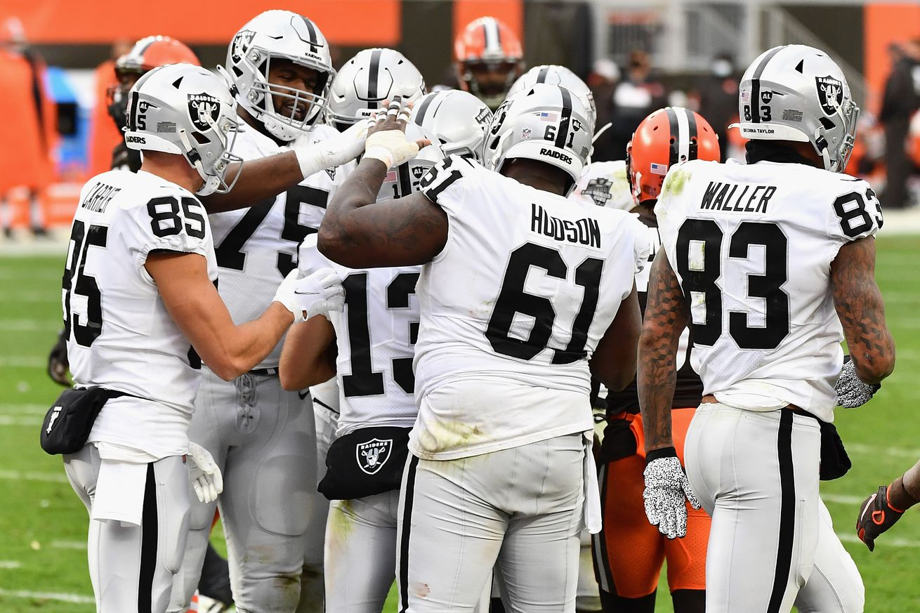 Las Vegas Raiders v Cleveland Browns