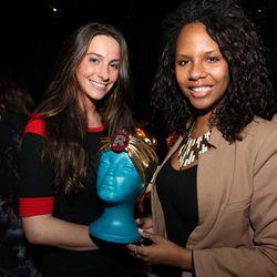 Melanie Brister of Moda Operandi and Annie Gorand of HL Group