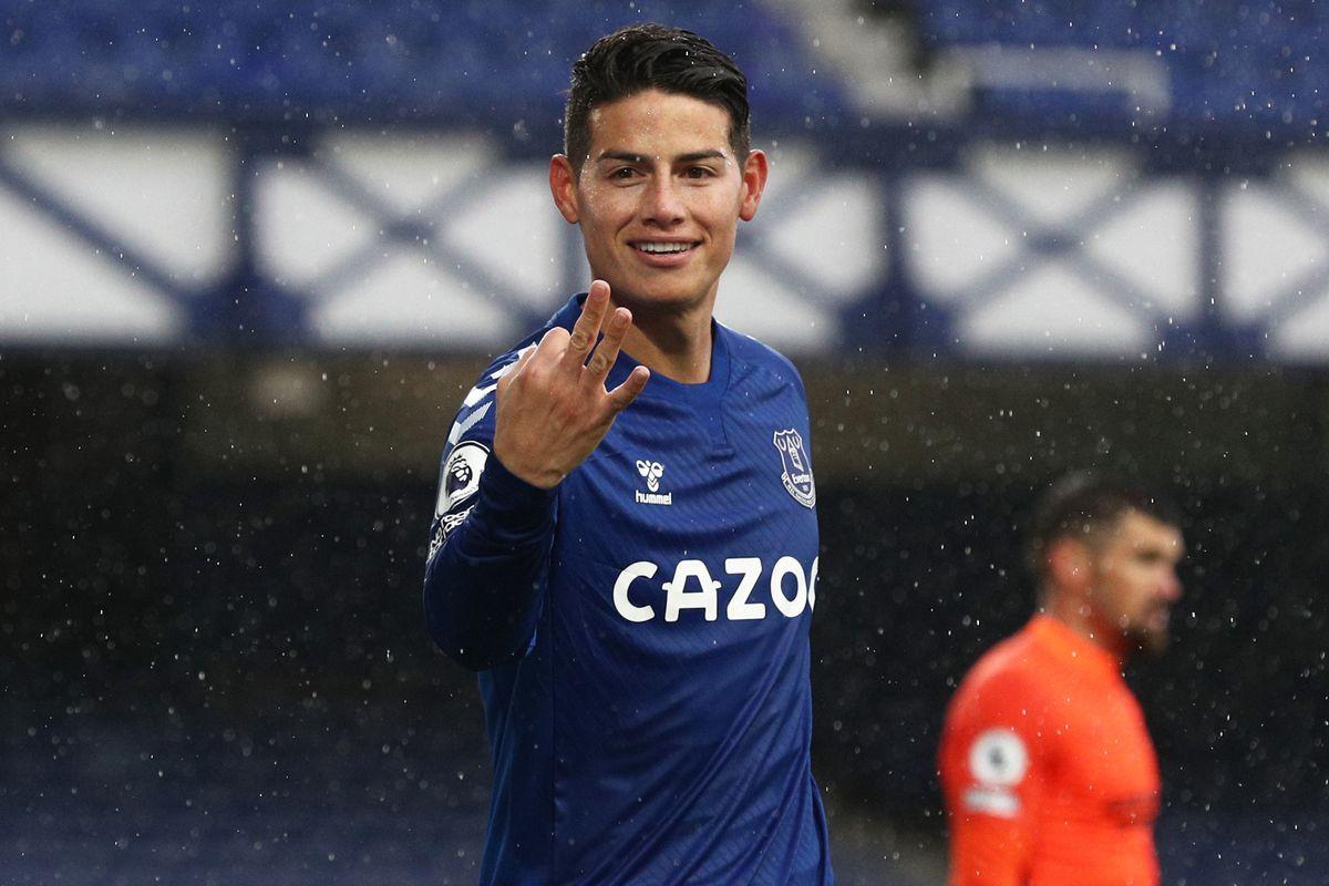James Rodriguez - Everton - Premier League