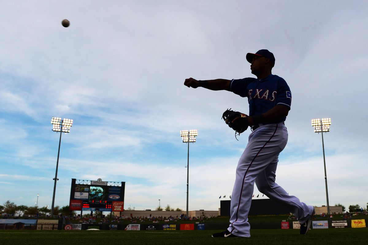 That's Adrian Beltre. He's better than every player I watched today.