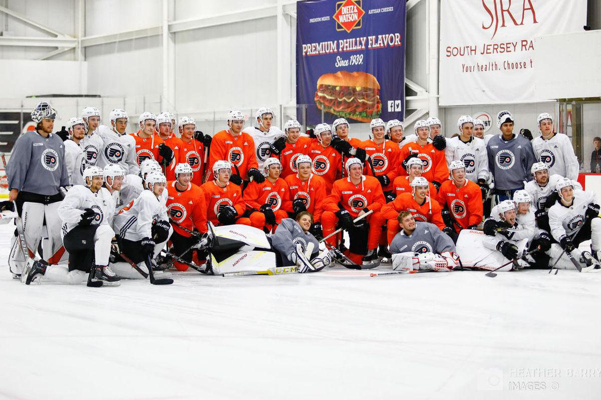 Five stars of Flyers development camp