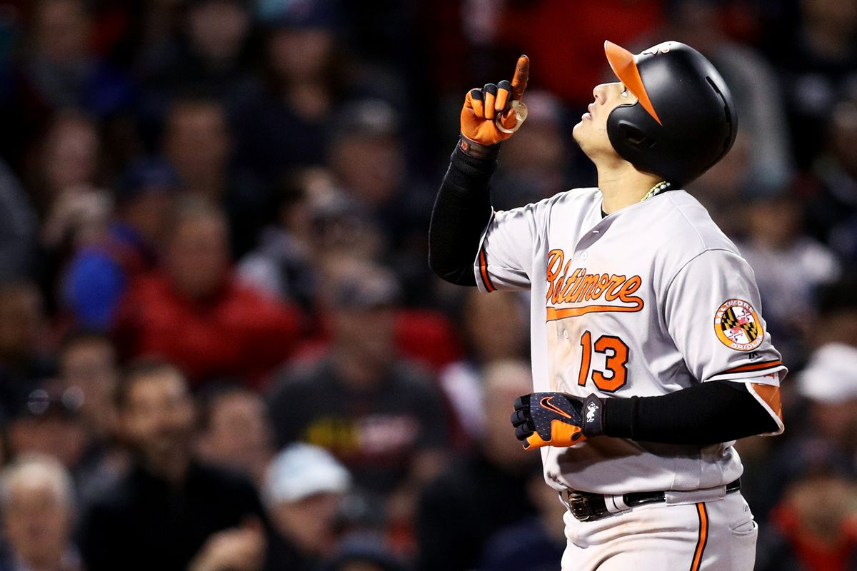 Orioles top Red Sox, Sanchez makes history