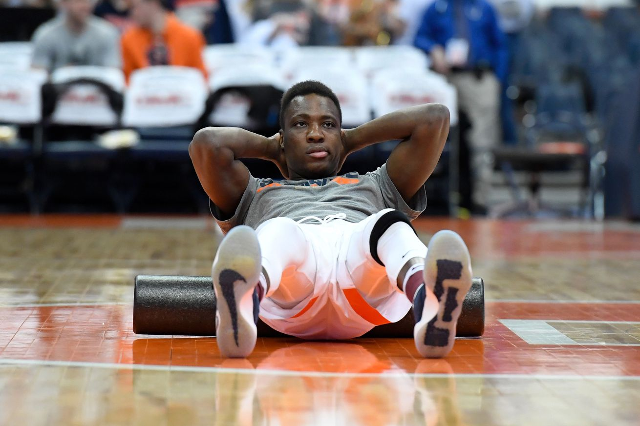 Bourama Sidibe S Injury Continuing Syracuse Basketball S Rotation